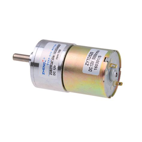 12v Electric Motor by 100 Rpm Gear Box Electric Motor 12v Dc Reversible High