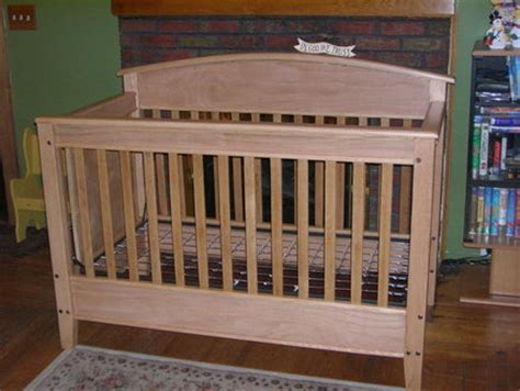 oak baby crib oak crib by lac14903 lumberjocks woodworking
