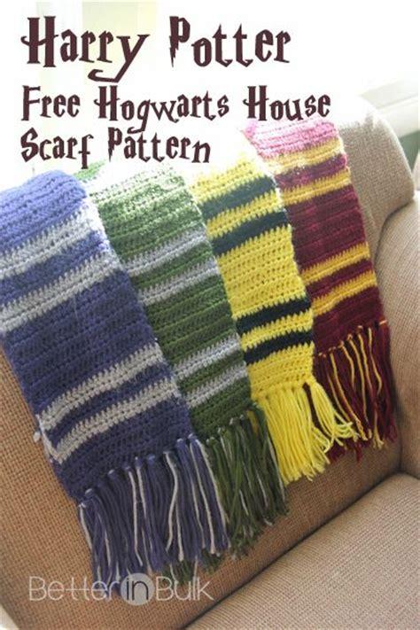 hogwarts scarf pattern knit best 25 harry potter crochet ideas on harry