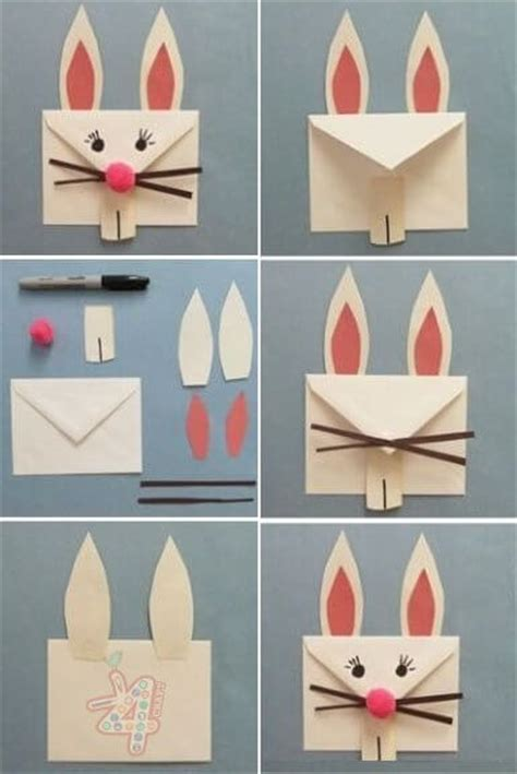 envelope crafts for 30 diy and creative easter crafts for page 3