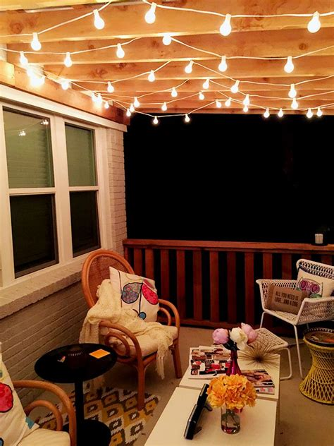 patio light ideas best 25 string lighting ideas on