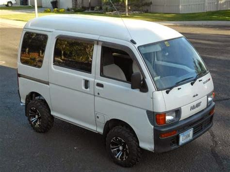 Daihatsu Hijet 4x4 by 1998 Daihatsu Hijet 4x4 Micro Auto Restorationice