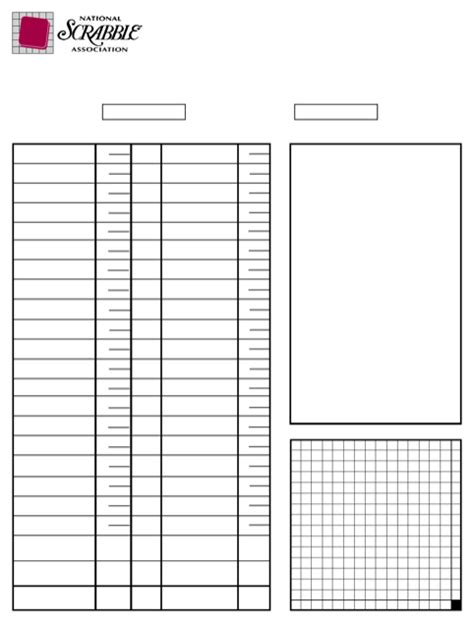 scrabble score sheet printable scrabble score sheet for free formtemplate