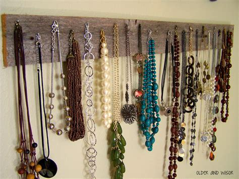 make a jewelry holder fascinating accessory from jewelery on usual desaign ideas