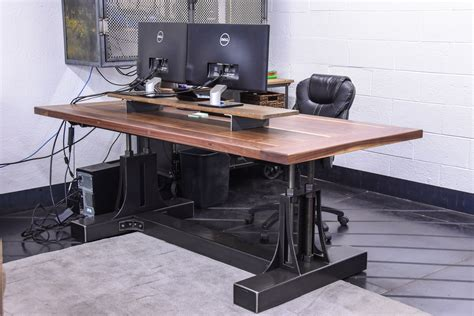 Post Industrial Desk   Vintage Industrial Furniture
