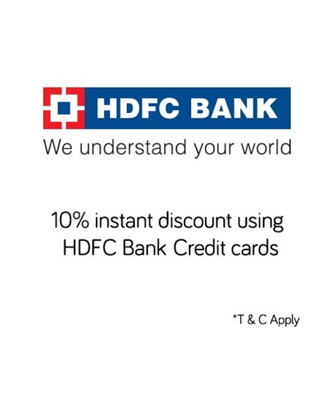 make my trip hdfc card offer snapdeal hdfc bank credit card offer get 10 discount