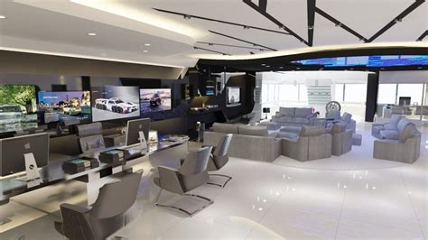 Bmw Service Center Near Me by 3d Visualization Bmw Service Center In Style Techno