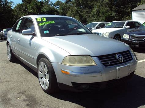 2003 Volkswagen Passat W8 by 2003 Volkswagen Passat W8 4motion Awd 4dr Sedan In Buford