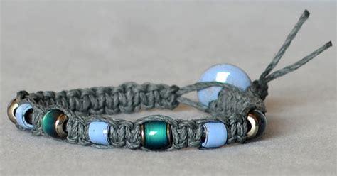 how to make hemp bracelets with how to macram 233 a hemp bracelet rings and things