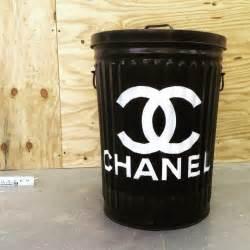 spray paint on trash can custom chanel trash can by humphrey industries x plutonium