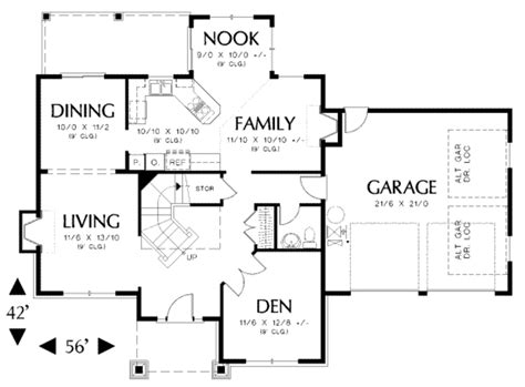 floor plans 2000 square craftsman style house plan 5 beds 2 50 baths 2000 sq ft plan 48 162