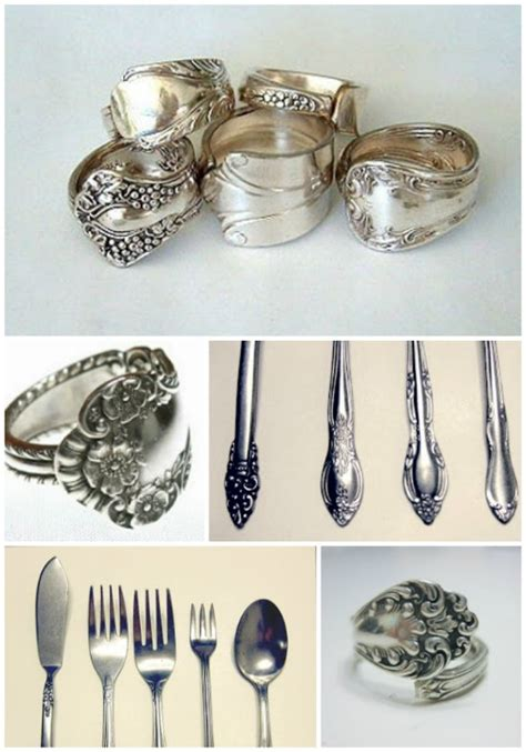 how to make silverware jewelry rings diy spoon ring tutorial make a ring from silverware
