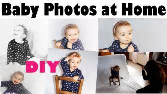 for at home baby photography at home diy vlogmas day 15