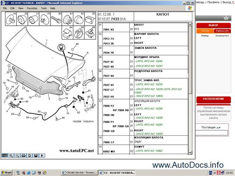 Citroen Parts by Citroen Spare Parts Catalog Repair Manual Service Manual