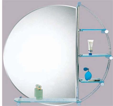 bathroom mirrors with shelves wall bathroom mirror with glass shelves ebay
