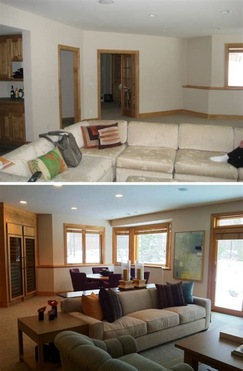 before and after a designer before and after home interior design picture rbservis