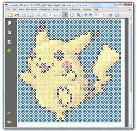 perler bead design generator perler bead pattern generator turn any image into