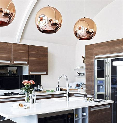 copper kitchen light fixtures the shiny kitchen metal decor for your culinary space