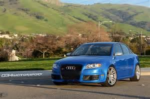 B7 Audi by Arturo S Sprint Blue B7 Audi Rs4 Suspension Upgrades