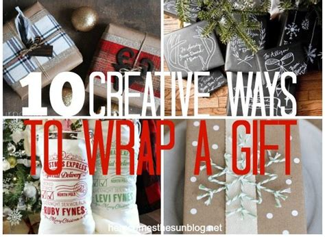 10 creative ways to wrap a gift here comes the sun