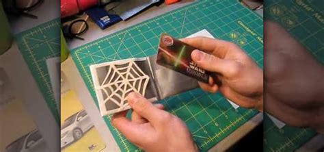 how to make a duct card holder how to make a web credit card holder with duct