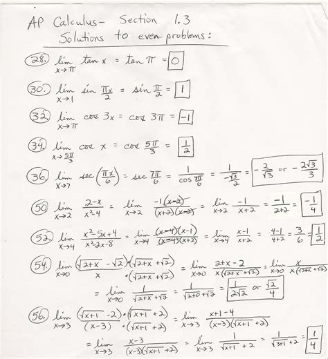 to calculus calculus problems and answers www pixshark images