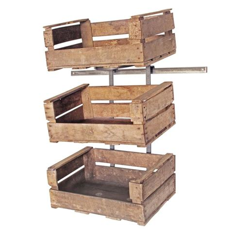 wall mounted display shelves wall mounted fruit crate display unit retail display