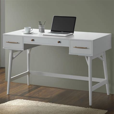 white writing desks 800745 white writing desk from coaster 800745 coleman