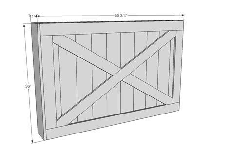 barn door dimensions barn door dimensions remodelaholic 35 diy barn doors