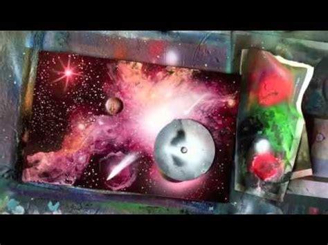 spray paint galaxy tutorial spray paint tutorial galaxy effects and high gloss