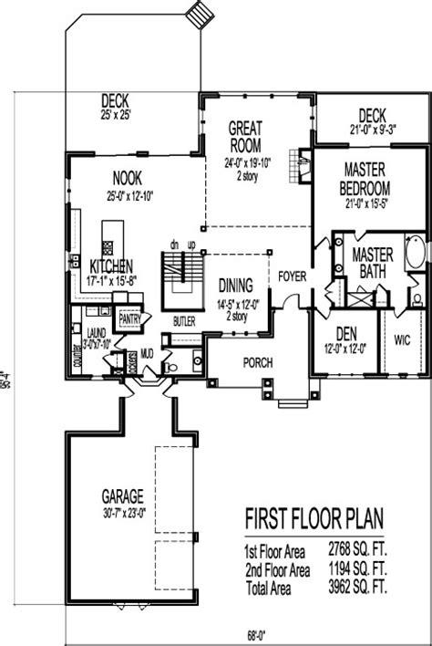 2 story open floor plans third floor 2 story open floor house plans modern two