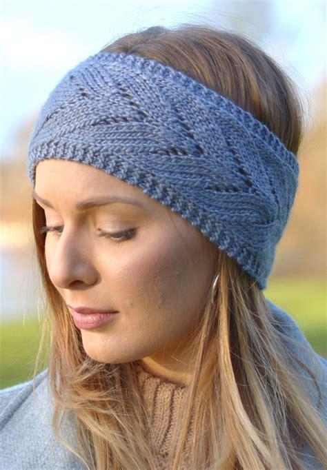 knit a headband earwarmer headband knitting patterns in the loop knitting