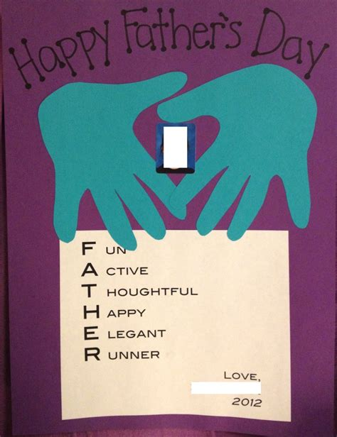 fathers day paper crafts last minute s day craft wrote acrostic poems