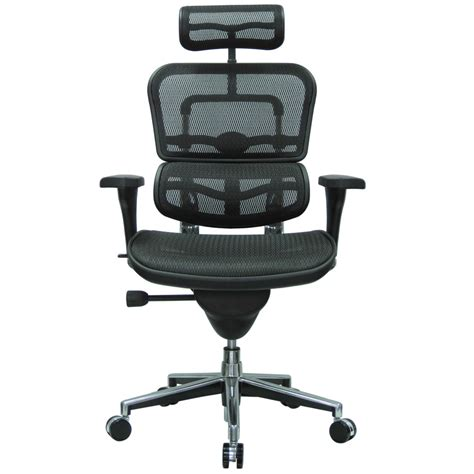 mesh swivel chair ergo human mesh swivel chair with headrest zuri furniture