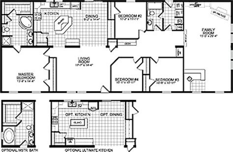 floor plans for mobile homes wide wide mobile home floor plans wide home