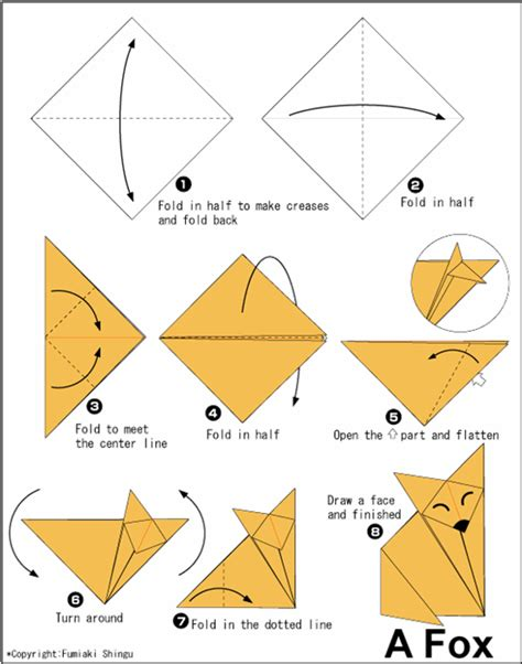 origami animals diagrams origami animal