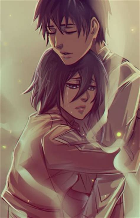 attack on titan eren and mikasa mikasa x eren attack on titan fanfic wattpad