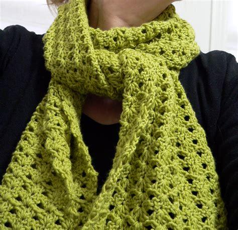 is crochet or knitting easier easy crochet scarf patterns crochet and knit