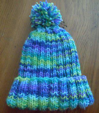 child knit hat pattern rib knit hat knitting pattern child s size