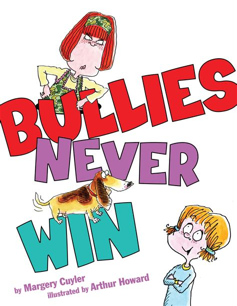 bullying picture books bullies never win book by margery cuyler arthur howard