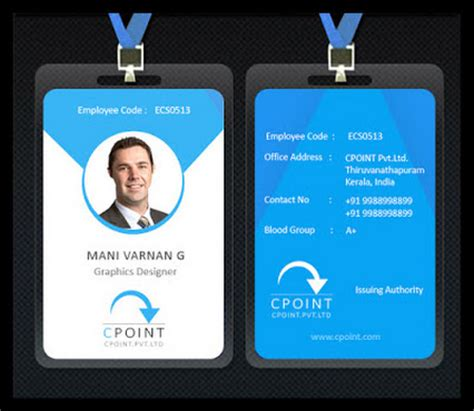 make company id cards employee id card idea i d card idea card