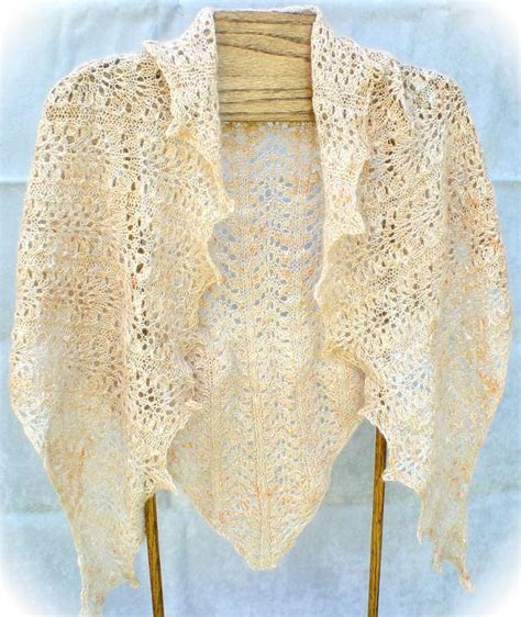 easy knit lace shawl pattern elegantly simple triangle shawl by jackiees craftsy