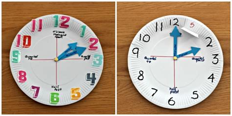 paper plate clock craft how to make a paper plate clock in the madhouse