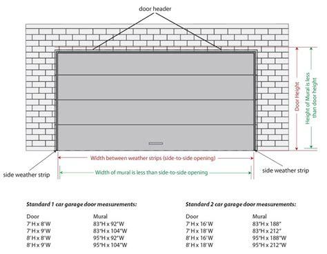 garage door size top 10 garage door sizes 2017 ward log homes