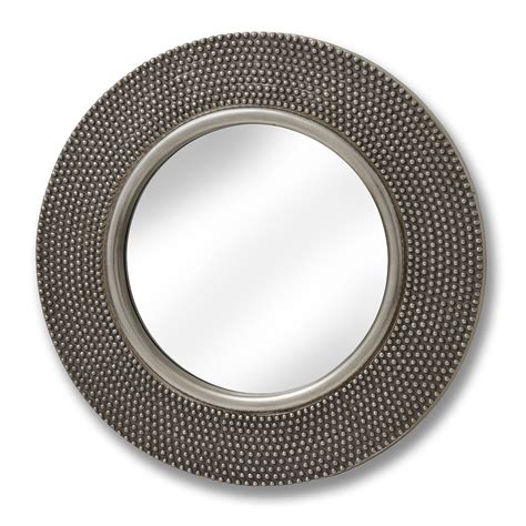Large Circular Beaded Mirror From Hill Interiors