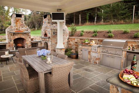 outdoor patio kitchen ideas five popular design features for outdoor entertaining