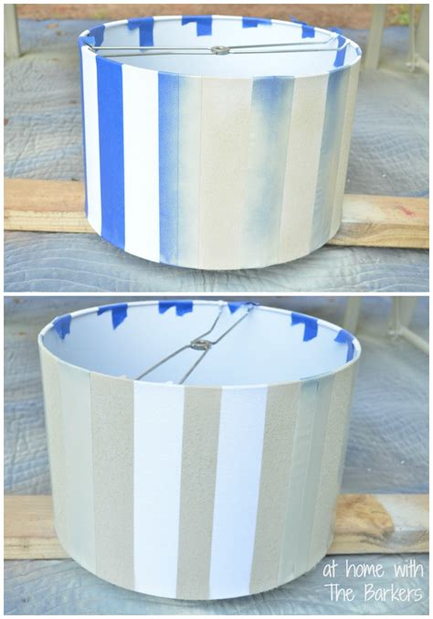 spray paint l shade diy spray painted l shade at home with the barkers