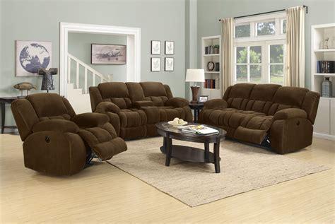 reclining living room set weissman brown power reclining living room set 601924p