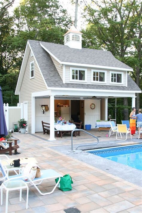 pool house plans with bathroom pool equipment sheds and hideaways infinity pools of llc