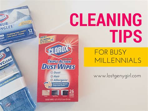 tips for cleaning cleaning tips for busy millennials y